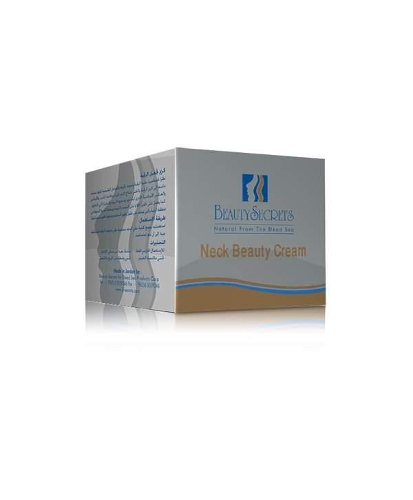 Crema pentru ingrijirea gatului 50ml beauty secrets