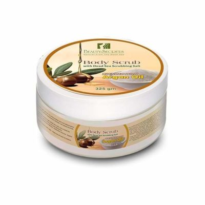 Exfoliant de corp cu ulei de argan 325gm beauty secrets