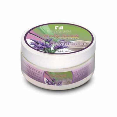 Exfoliant de corp cu ulei de lavanda 325gm beauty secrets