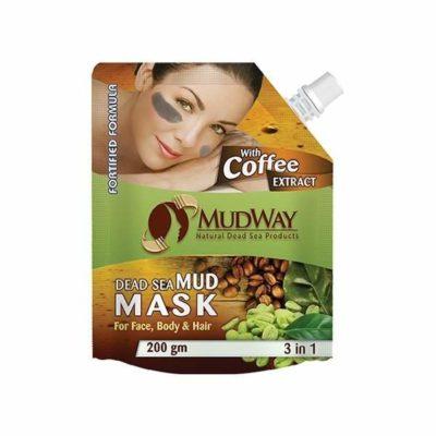 Mască din namol cu extract de cafea 3in1 200gm beauty secrets