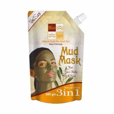 Masca de corp fata si par din namol cu extract din frunze de masline 3in1 beauty secrets 500gm