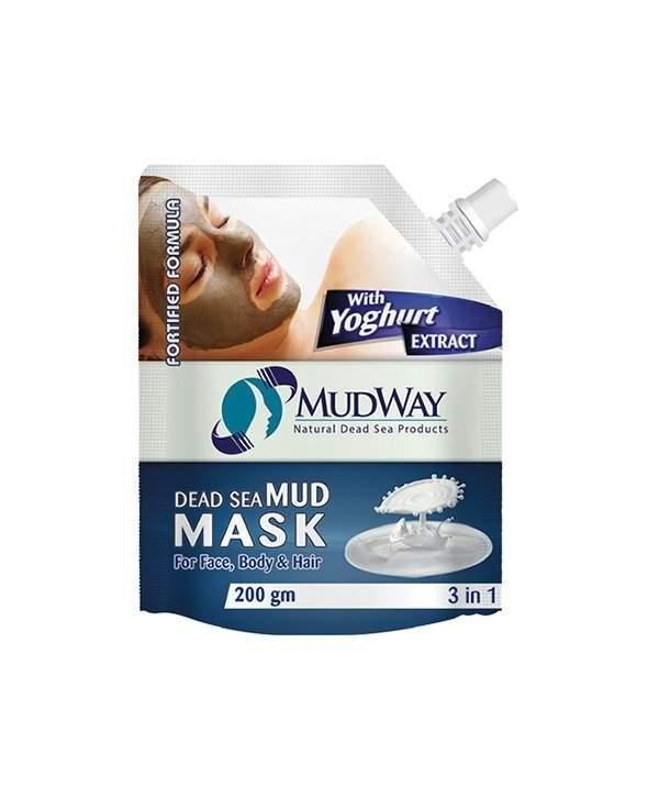 Masca din namol cu extract de iaurt 3in1 200gm beauty secrets