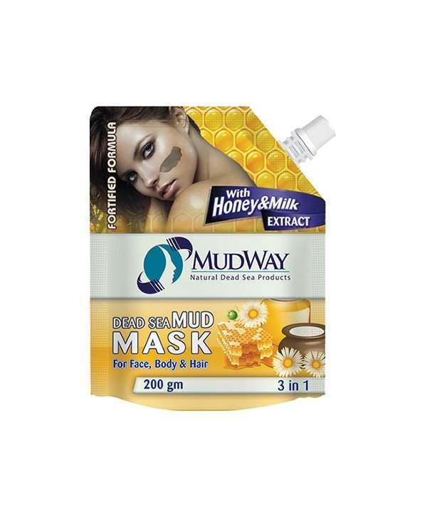 Imagine caracteristică a Masca de Noroi Miere și Lapte